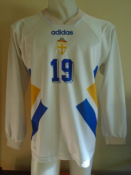 Camiseta Suecia Mundial Estados Unidos 1994 Andersson #19 L