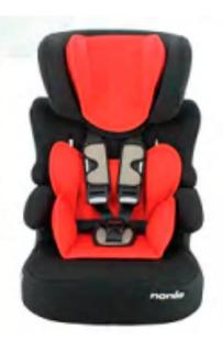 Butaca Booster Auto Bebe Beline Eco Nania 9 A 36kg Babymovil