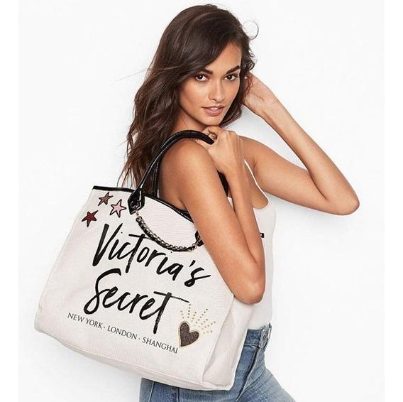 Bolso Cartera Tote Victoria Secret Angel City Original Usa