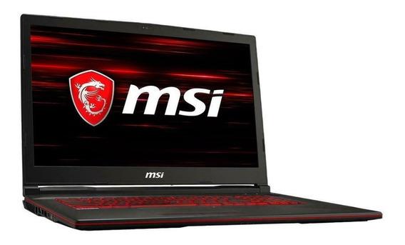 Notebook Msi Gaming Core I7 8gb 1tb Ssd 1050ti 4gb 17,3 Fhd