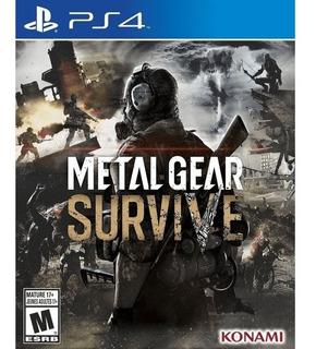 Metal Gear Survive - Ps4 Fisico Nuevo & Sellado
