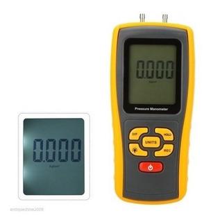 Manómetro Digital Gm510 De Presión De Aire Diferencial 10kpa