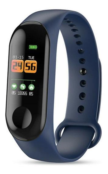 Relógio Inteligente Pressão Arterial Monitor Frequência Card