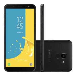 Samsung Galaxy J6 Preto 32gb Novo, Com Nota E Garantia
