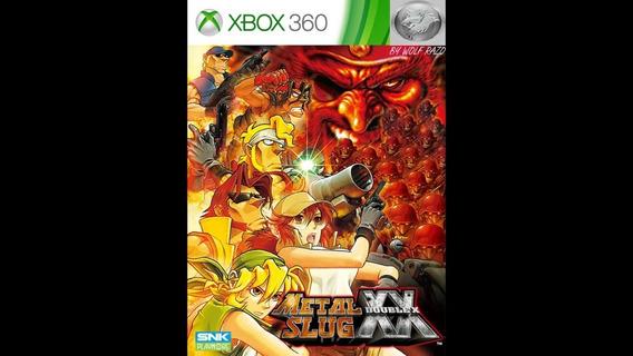 Jogo Raro Combo Metal Slug Xbox 360 Rgh / Jtag