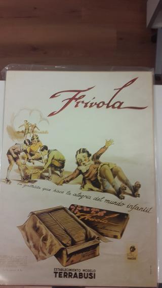Poster Publicidad Galletitas Frivola Terrabusi