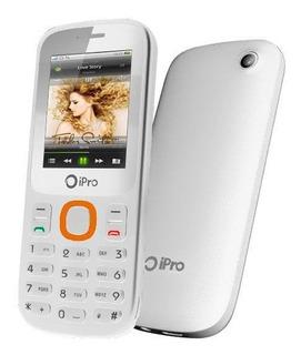 Celular Ipro I3200 2 Chips Bluetooth Fm Branco | Vitrine