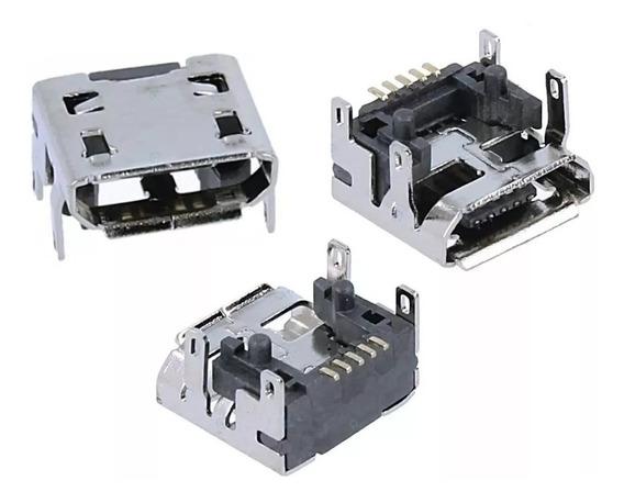 Conector Carga Original Caixa Som Go Micro Usb 5 Pinos