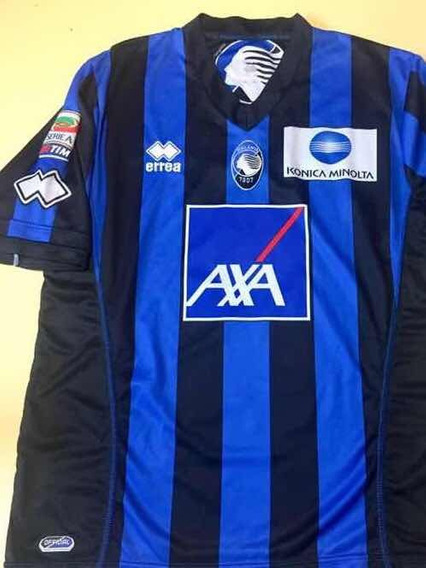 Camiseta Fútbol Original Atalanta Milano, Autografiada