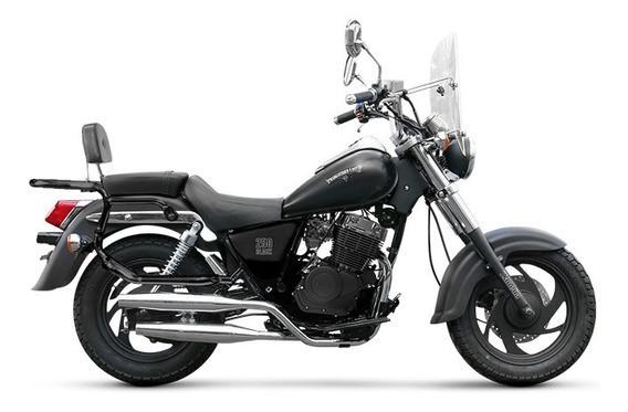 Patagonian 250 Black 0km Moto Custom Chopper Zanella
