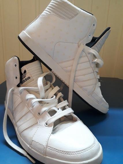 Zapatillas Botitas adidas Court Side