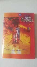 Álbum Viagem Especial Chocolates Surpresa Completo
