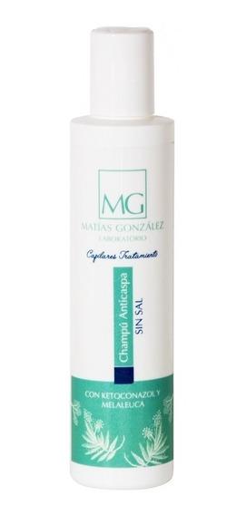 Shampoo Anticaspa Antiseborrea Sin Sal Matías González