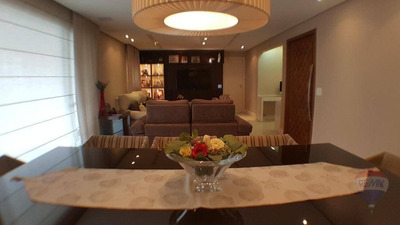 Apartamento 146m² Ipiranga, 3 Dormitórios, 3 Suítes, 3 Vagas - Ap0025
