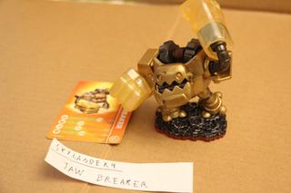 = Skylanders 4 = Taw Breaker Com Card