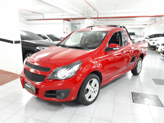 Chevrolet Montana Sport 1.4 Vermelha 2014 Completa 53 Mil Km