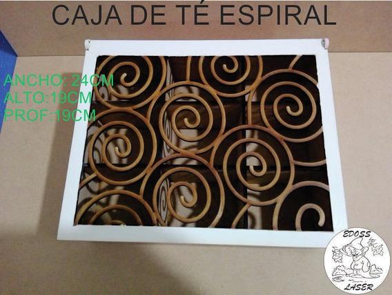 Caja De Té Espiral 9 Divisiones