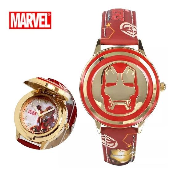 Relógio Masculino Infantil Homem De Ferro