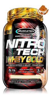 Oferta - Nitrotech Whey Gold 2.5lbs (1,13kg) - Muscletech