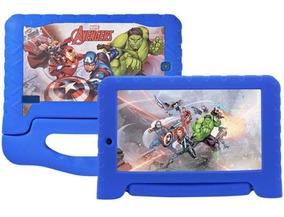 Tablet Para Meninos Disney Avengers Multilaser Plus 8gb Wifi