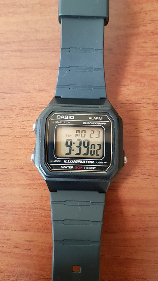 Relógio Casio Vintage Modelo W-217h