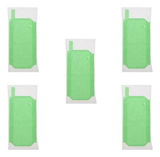5 X Bateria Porta De Volta Cola Fita Adesivo Stickers Para S