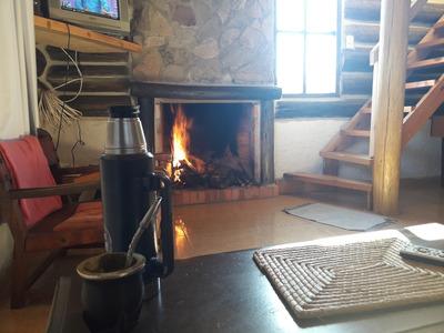 Cabaña De Troncos En La Paloma Uruguay, Con Wifi Y Cable