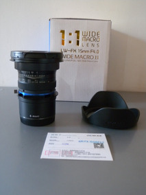 Lente Venus Laowa 15mm F4 1:1 Macro Shift P Sony E Mount Sp