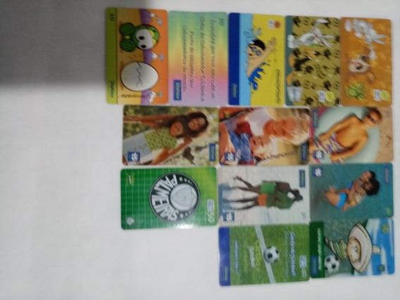 Album De Cartão Telefônico Antigo C/ 96 Cartão