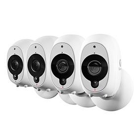 Paquete 4 Cámara Seguridad Inteligente Swann : 4x 1080p Cá