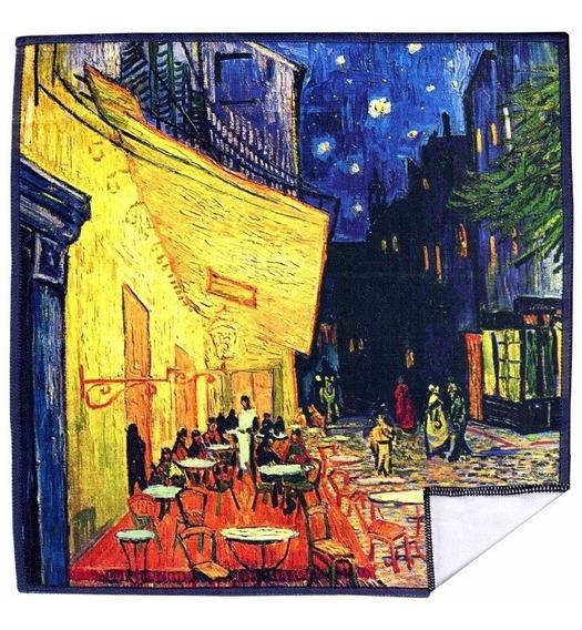 Paño Limpia Gafas 20 Cm La Terraza De Café En París Van Gogh