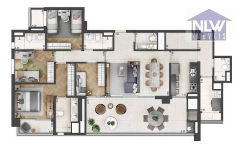 Apartamento Com 4 Dormitórios À Venda, 145 M² Por R$ 2.354.550,00 - Vila Mariana - São Paulo/sp - Ap2615