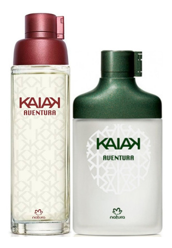 Kaiak Aventura Dama + Caballero Natura - mL a $590