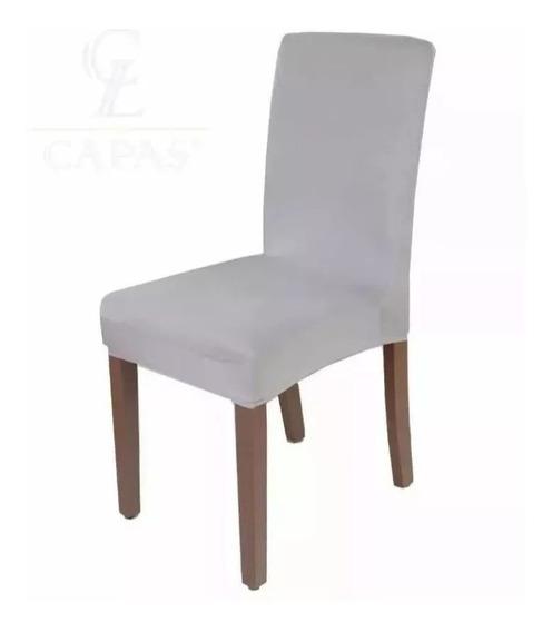 Kit Capa De Cadeira Lisa 4 Peças - Promoção