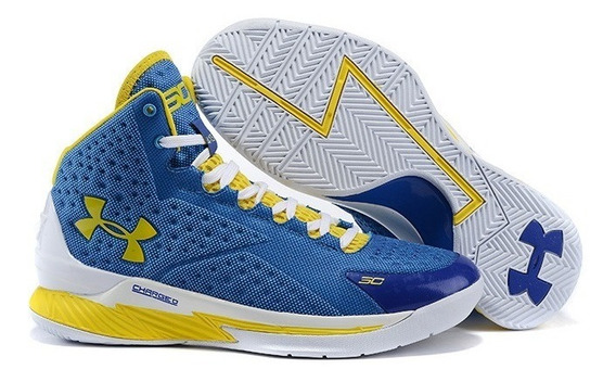 Tenis Bota Under Armour Curry Baskeball Mujer.