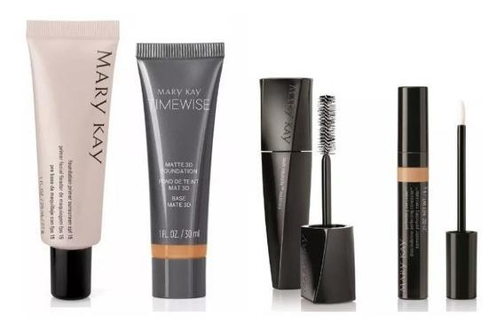 Mary Kay Kit Base Matte 3d + Corretivo + Primer + Mascara