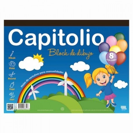 Block Capitolio Color N°5 25 Hj