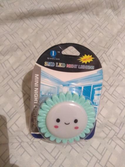 Abajur Mini Abajur Luminária Led Infantil Tomada On/off