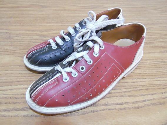 Zapatos De Boliche Amf Piel 22cm H226