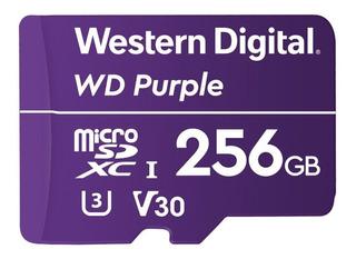 Memoria Wd Purple 256gb Micro Sdxc Video Vigilancia Cl10 /vc
