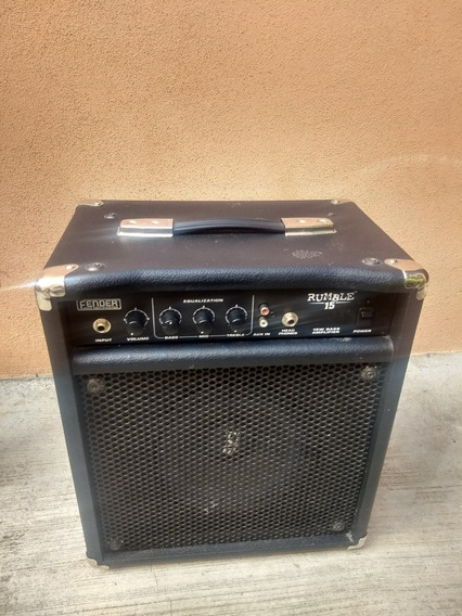 Amplificador Rumble 15w Bajo