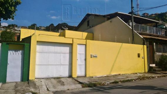 Casa Com 3 Dormitórios À Venda, 176 M² Por R$ 590.000 - Caonze - Nova Iguaçu/rj - Ca0224
