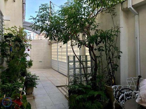 Casa Com 3 Dorms, Campo Grande, Santos - R$ 1.300.000,00, 140m² - Codigo: 9874 - V9874