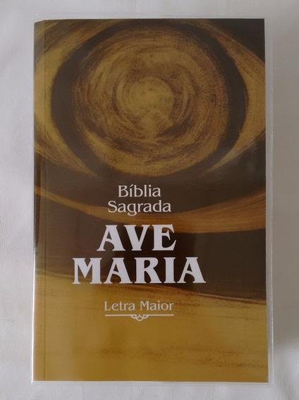 Bíblia Sagrada Ave Maria Letra Maior Brochura Palavra Deus