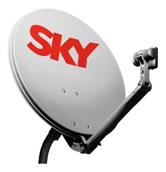 Antena Banda Ku 60 Cm Com Lnb