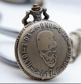 Reloj Colgante Collar De Death Note Anime De Colección
