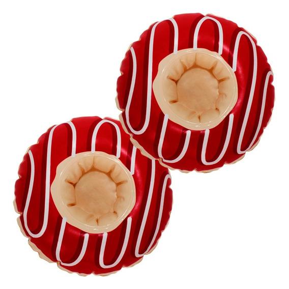 Kit Boia Porta Copo Donuts 2 Unidades Belfix