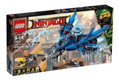 Imagen 1 de 2 de Lego Ninjago Movie Lightning Jet 70614