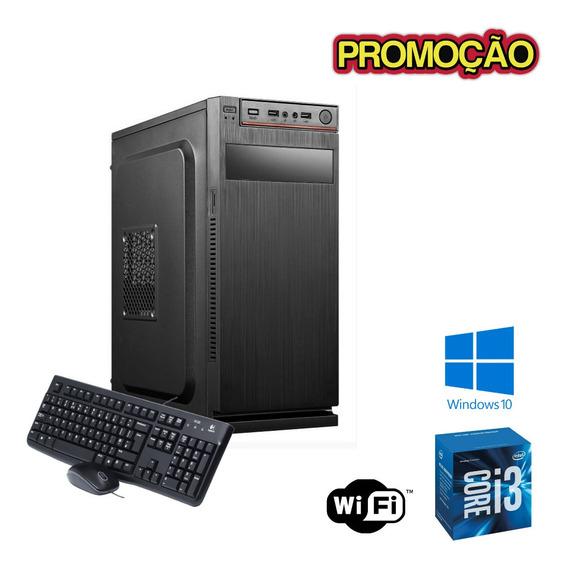 Cpu I5 4gb Ssd 120gb Windows 10 Teclado E Mouse - Programas