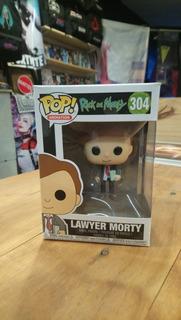 Funko Pop Rick And Morty Morty Abogado - Original